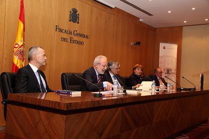 El Fiscal General del Estado preside la presentación del Libro sobre la prueba pericial