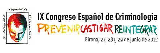 IX Congreso Español de Criminología