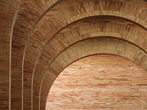 Arcos del Museo Romano de Mérida