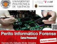 Curso de Perito Informático Forense en la UPV