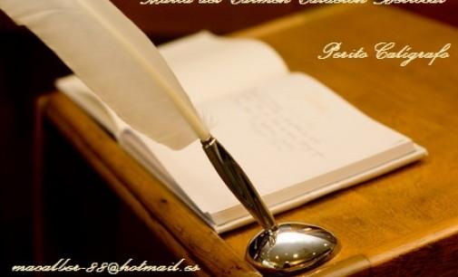 Hablando sobre Pericia Caligráfica: Sobre el acto escriturario