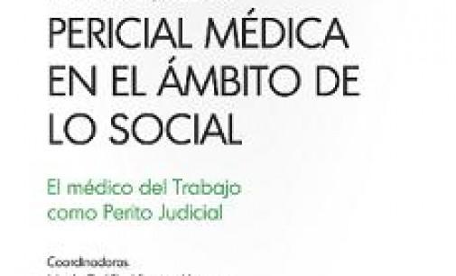 Publicación «La prueba pericial médica en el ámbito de lo social»