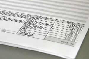Los honorarios de los peritos en los informes periciales