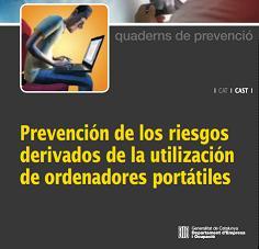 Guía Prevención de los riesgos derivados de la utilización de ordenadores portátiles