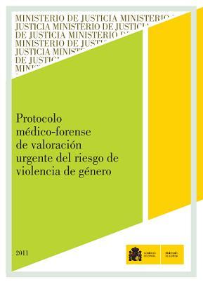 Protocolo médico forense de valoración urgente del riesgo de violencia de género