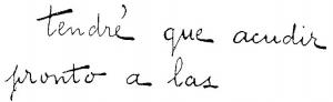 Hablando de pericia caligráfica: Definiciones de la grafía según sus elementos II
