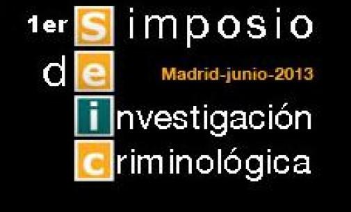I Simposium sobre Investigación Criminológica