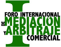 I Foro Internacional de Mediación y Arbitraje Comercial