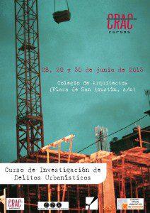 Curso de Investigación de Delitos Urbanísticos en Granada
