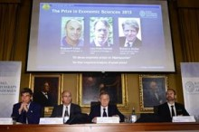Premio Nobel para tres especialistas en valoración de activos financieros