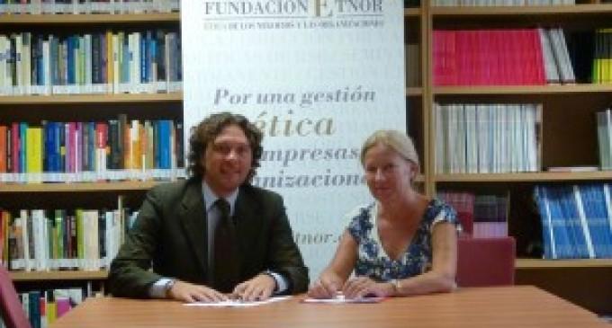 ÉTNOR y la Asociación de Peritos firman un convenio para promover la Ética empresarial