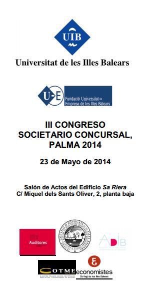 Congreso Societario-Concursal