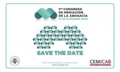 Barcelona acogerá el I Congreso de Mediación de la Abogacía