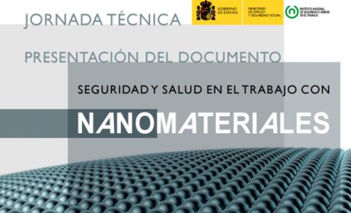"""Jornada Técnica. Documento """"Seguridad y salud en el trabajo con nanomateriales»"""