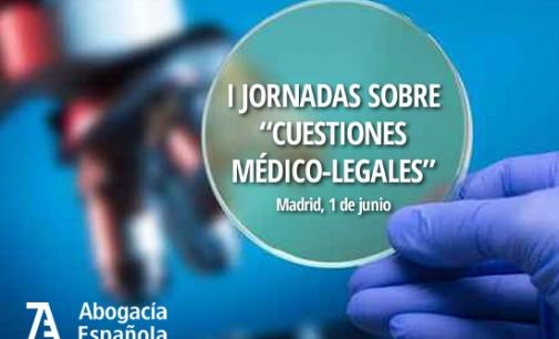 I Jornadas sobre Cuestiones Médico-Legales