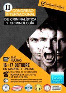 II Congreso Internacional de Criminalística y Criminología