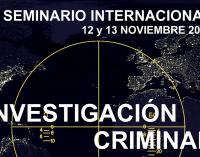 IV Seminario Internacional de Investigación Criminal