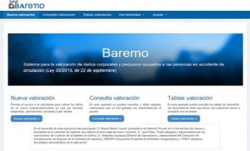 Aplicación para el cálculo de indemnizaciones para víctimas de accidentes de circulación