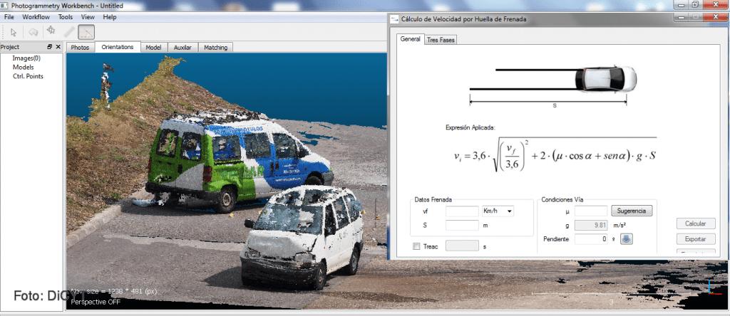 Reconstrucción de accidentes de tráfico en 3D