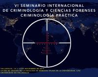 VI Seminario Internacional de SECCIF (Criminología práctica)