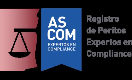 ASCOM crea el primer registro de peritos judiciales de compliance