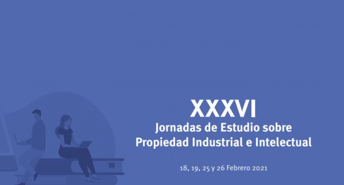 XXXVI Jornadas de Estudio sobre Propiedad Industrial e Intelectual